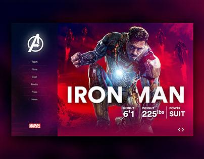 Marvel's Avengers - Microsite
