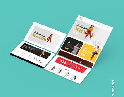 WILLOW WEBSITE DESIGN WORK