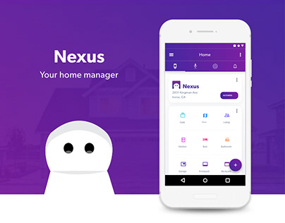 Android Smart Home Control App: Nexus
