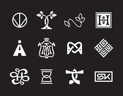 Monogram logo collection