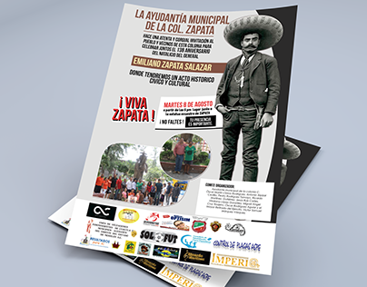 Flyer Ayuntamiento Emiliano Zapata