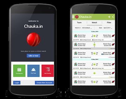 Chauka Mobile App