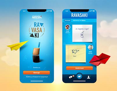 NESCAFÉ Ravasaki app