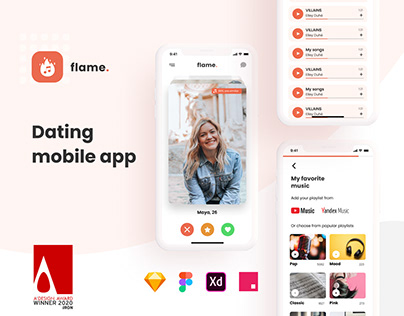 Flame Dating Mobile Application