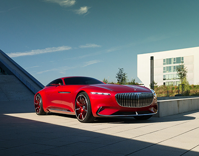 Vision Mercedes - Maybach 6