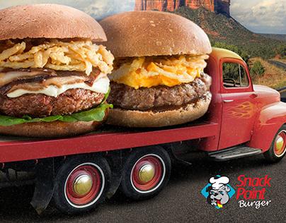 Criação Campanha - Lanchonetes Snack Point Burger