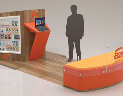 exhibit stand layout - AB Projetos