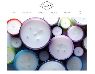 Alixx website