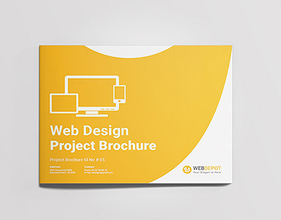Landscape Web Design Brochure