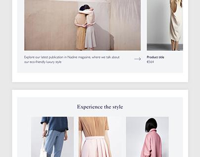Online store for premium brand