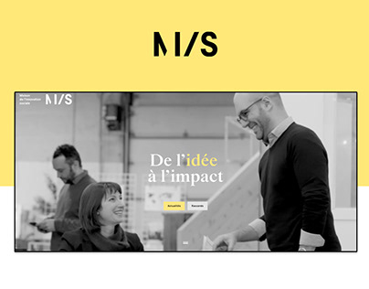 Website redesign - Maison de l'innovation sociale