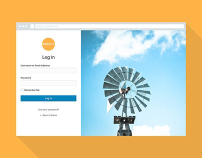 Free - WordPress White Label Login Page Plugin