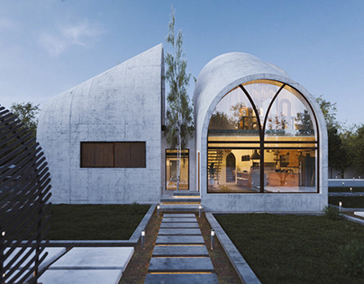 Arc house