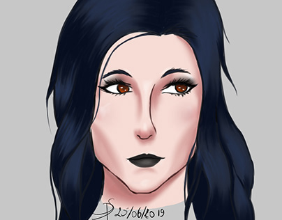 Goth portrait