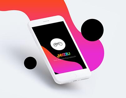 Nyzzu . Branding & UX/UI App