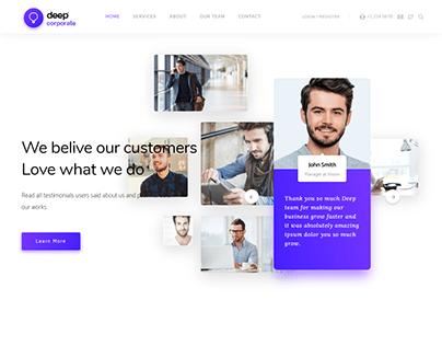 web design agency portfolio site