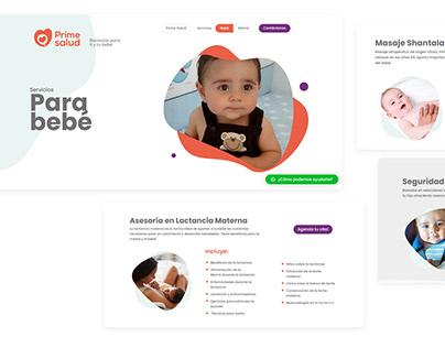 Website Redesign Prime Salud