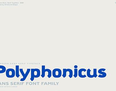 Polyphonicus - Sans Serif Font Family