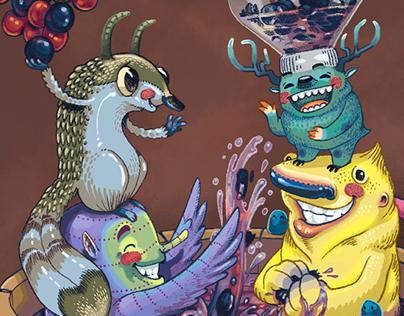 Wine Creatures @ ProWein 2015