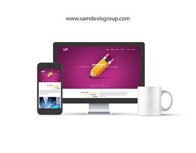 Corporate Website Samdevis Group