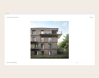 Luca Pederzini · Identity and website.