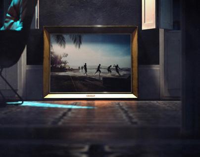 Barcelona Apartment At Night - Full CGI
