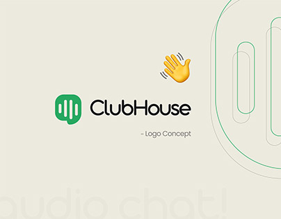 Clubhouse: Logo concept