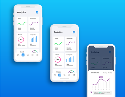 Mobile Dashboard UI Kit