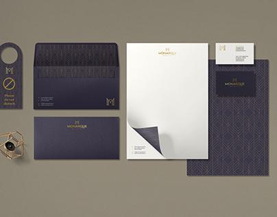 Monarque Hotel Brand Identity