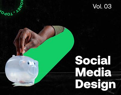 Design Social Media - Topomoney