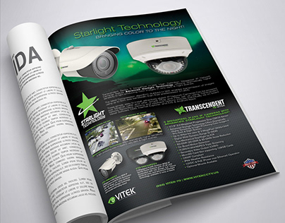 "Full page ""Starlight Technology"" Advertisement"