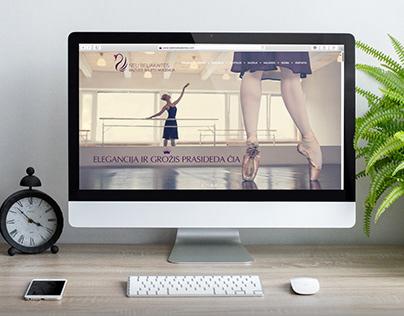 Ballet academy branding