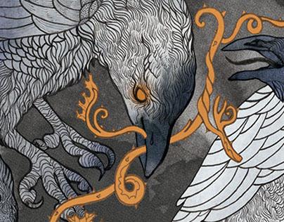 A Murder of Crows // Beer Label Design