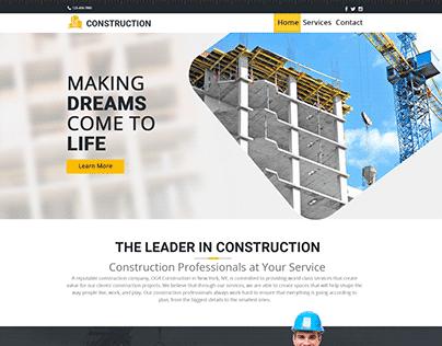 Construction_web design