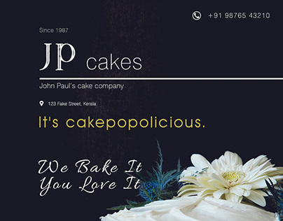 Cake Co. Promotion Ad
