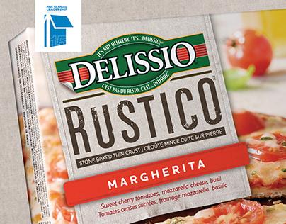 Nestle - Delissio sub brand design