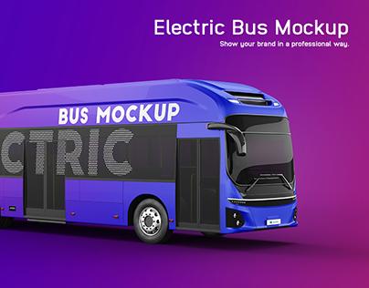 Hyundai Electric City Bus Mockup
