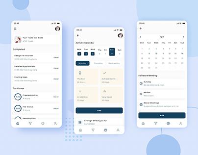 Task Management App Ui Design