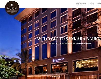 SANKARA WEBSITE DESIGN UI/UX