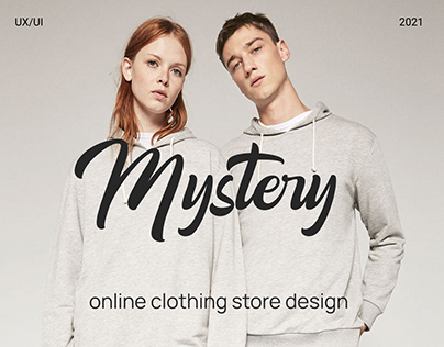 Design of online clothing store Mystery
