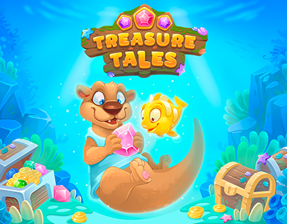 treasure tales match 3 game