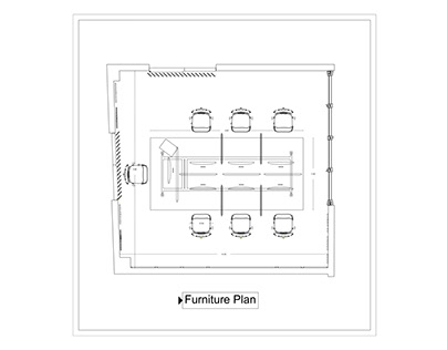 Shop Drawing for Work station