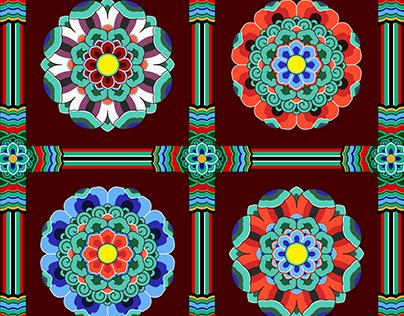 Korean Traditional Pattern Design [단청]