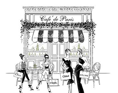 Cafe' de Paris