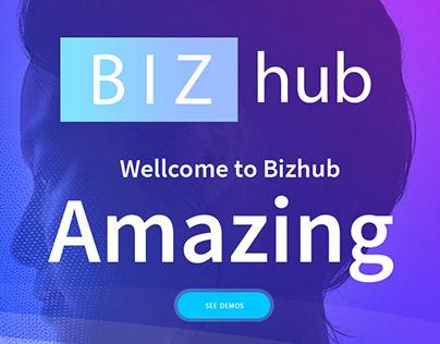 Bizhub - Responsive MultiPurpose HTML5 Template