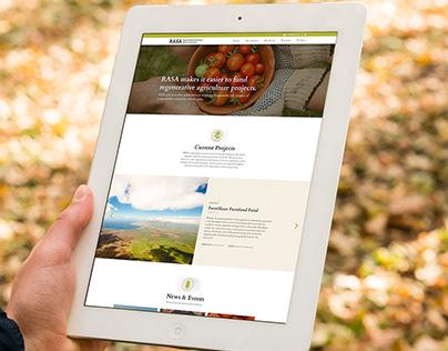 RASA: Regenerative Agriculture Wordpress Site