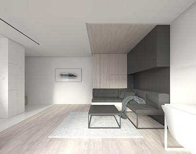 Smart studio apartment 29m2