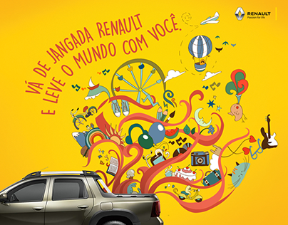 Renault Jangada - Mídias Sociais