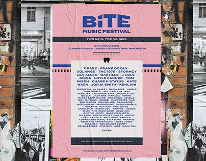 BITE Music Festival - Branding