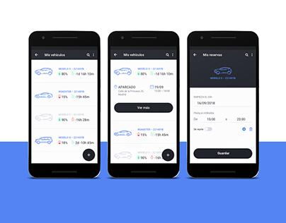 Diseño UX/UI. App Alquiler de Coches